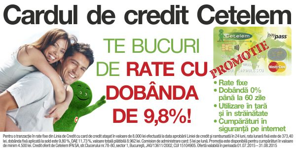 Rate Cetelem Direct in Magazin